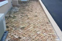 Brick Cleaning Before