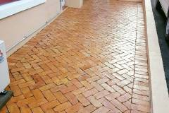 Brick Cleaning After