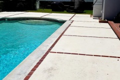 Pool Deck Concrete Cleaning