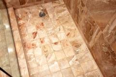 Shower Floor Restoration After